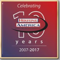 Housing America 10-Year Anniversary Lapel Pins
