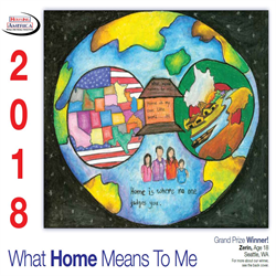 """2018 Calendar - """"What Home Means to Me"""""""